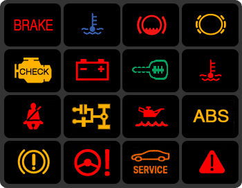 Dash Warning Lamps